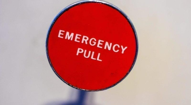 Un pulsante di emergenza come questo può salvare delle vite.