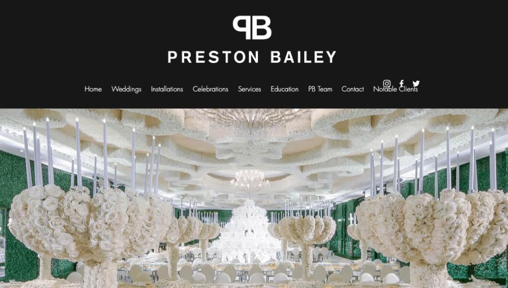 Preston Bailey.